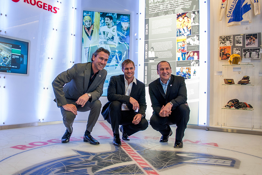"Vancouver Canucks ""Hall of Heroes"""