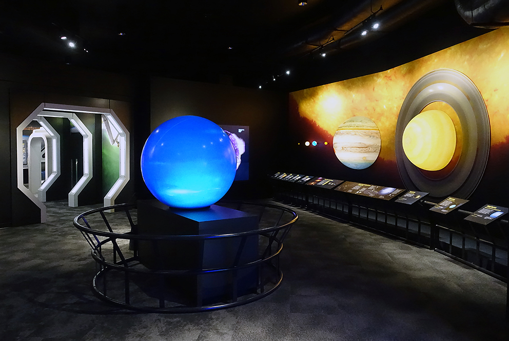 Telus World of Science S.P.A.C.E Gallery